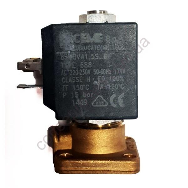 Соленоїдний клапан CEME двохходовий 220-230V/ 50-60Hz 9W