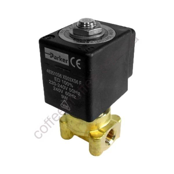 Клапан двохходовий LUCIFER 1/8 1/8 220/240V 50/60 Hz