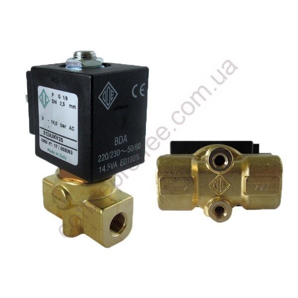 Cоленоїдний клапан ODE 1/8 1/8 230V двохходовий