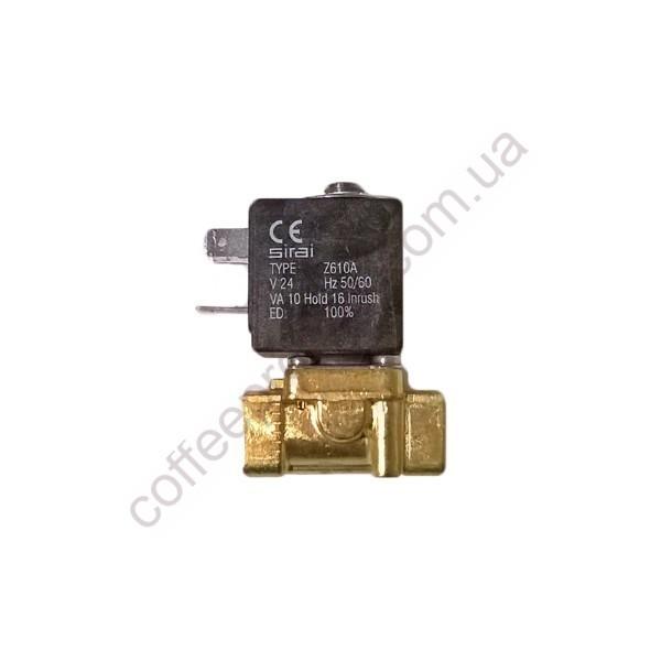 Товар на сайті Coffee Proffee - Соленоїдний клапан SIRAI двохходовий 24V 50-60Hz 1/4