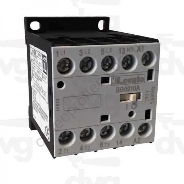 Товар на сайте Coffee Proffee - Контактор AC3 9A 4KW (400V) COIL 230V 50/60Hz
