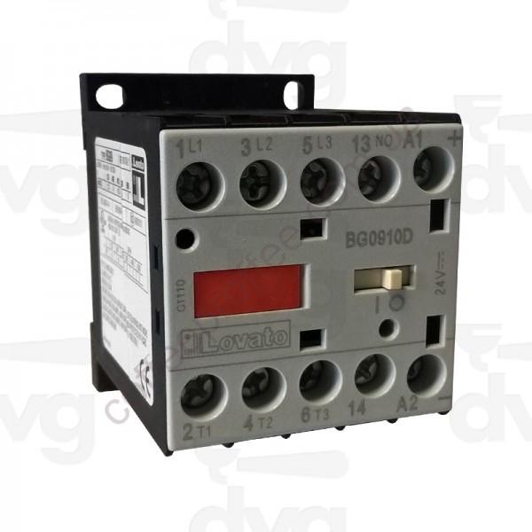 Товар на сайте Coffee Proffee - Контактор  AC3 9A 4KW (400V) COIL 24VDC