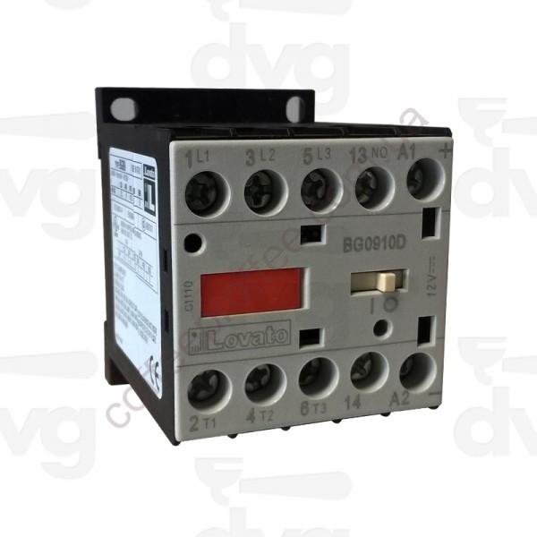 Товар на сайте Coffee Proffee - Контактор AC3 9A 4KW (400V) BOBINA 12VDC