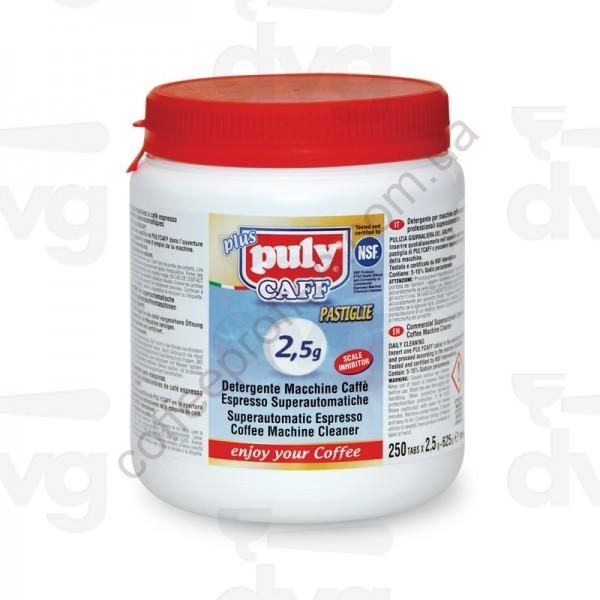Товар на сайте Coffee Proffee - Таблетки для чистки кофейных систем Puly Caff 2,5 г. (250шт.)