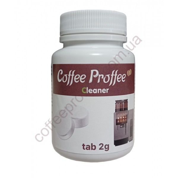 """Товар на сайте Coffee Proffee - Таблетки для чистки кофейных систем """"MASTER Cleaner"""" 2gr (50 шт)"""