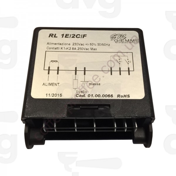 Регулятор уровня воды RL1 1E / 2C / F 230V GIEMME