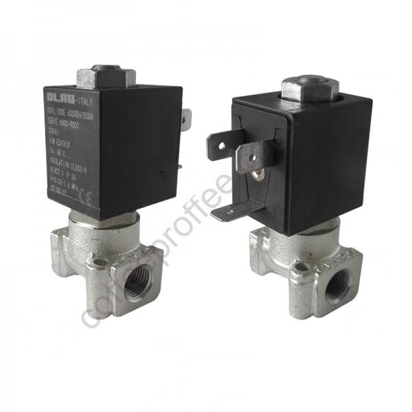 Електромагнітний клапан OLAB двохходовий 1/8  1/8  24V 10W (Постійний струм)