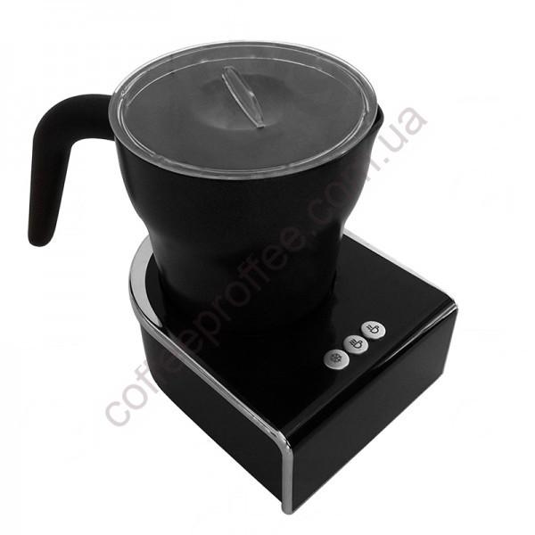 Електричний молочний піноутворювач для приготування капучино або маккіато (Чорний)