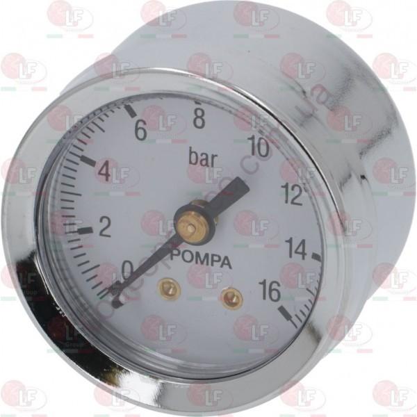 Товар на сайті Coffee Proffee - МАНОМЕТР  D. 42 мм 0÷16 bar