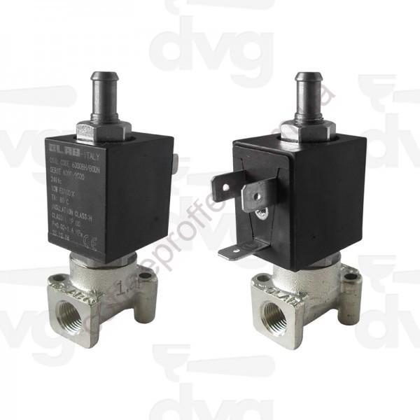 Товар на сайте Coffee Proffee - Клапан соленоидный OLAB, 3-ходовой, 1 / 8F 24VDC DN 1,2 10W