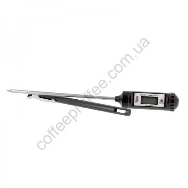 Товар на сайті Coffee Proffee - Термометр цифровий з чохлом -50°C +300°C -58°F +572°F