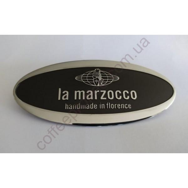 Товар на сайті Coffee Proffee - Емблема LA MARZOCCO овальна металічна