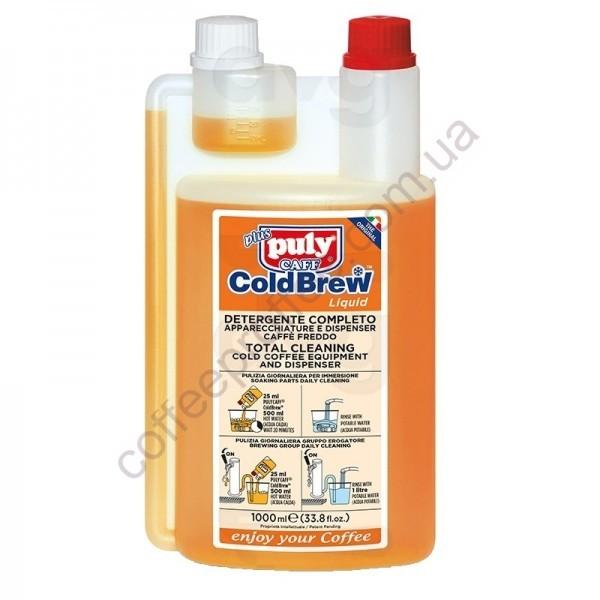 Товар на сайте Coffee Proffee - Жидкость для чистки кофейных систем PULY CAFF® COLD BREW 1Л 20доз