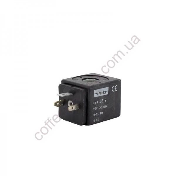 Товар на сайте Coffee Proffee - Катушка соленоидного клапана PARKER 24VDC ZB12 12W IP65