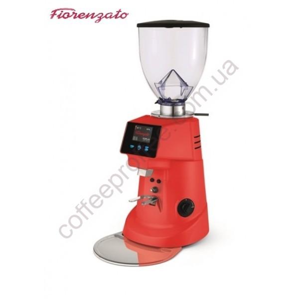 Товар на сайті Coffee Proffee -  Кавомолка FIORENZATO F64 E (червона)