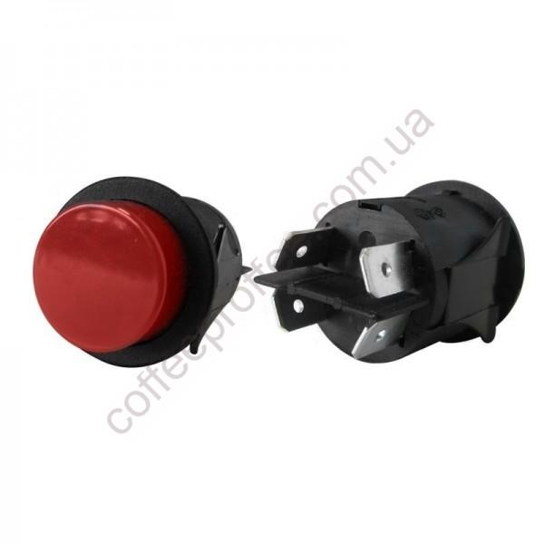 Кнопка ON-OFF D.25MM красная ASTORIA/BRASILIA/GAGGIA-SAECO/WEGA