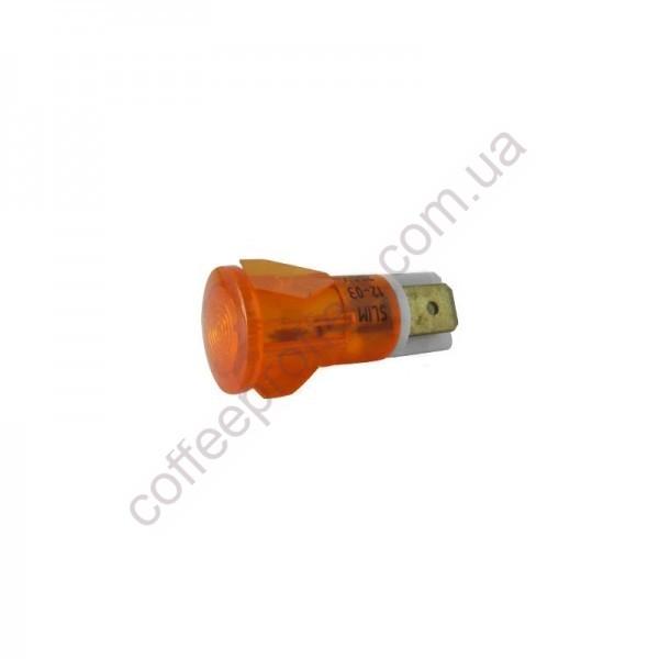 Товар на сайті Coffee Proffee - Світловий індикатор помаранчевий 250V D.14MM D.11MM GAGGIA-SAECO
