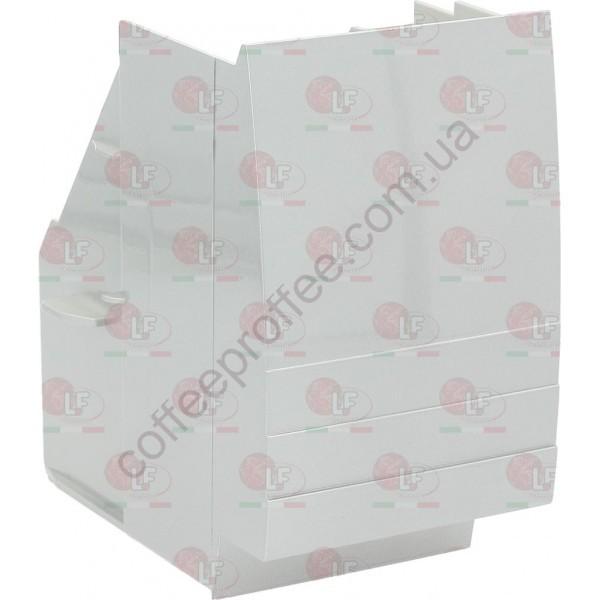 Товар на сайті Coffee Proffee - Контейнер для кавових відходів сріблястий SAECO 180x120x200ММ