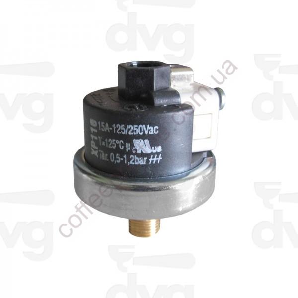 Прессостат XP110 0,5-1,2 BAR G1 / 8 125/250 (Переменный ток)
