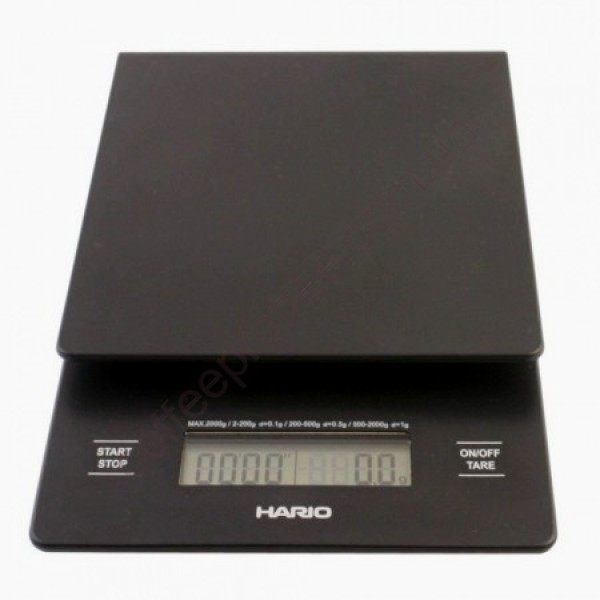 "Товар на сайте Coffee Proffee - Весы ""HARIO""  V60 Drip Scale 2-2000g"