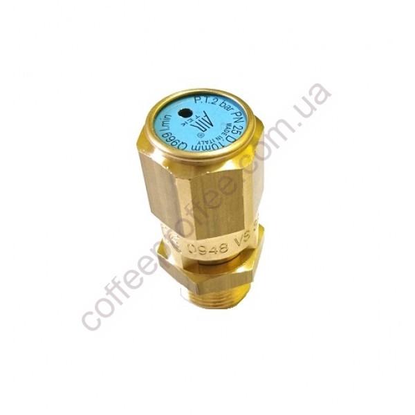 Товар на сайті Coffee Proffee - Аварійний клапан 3/8'' 2 BAR Сертифікований CE PED IV