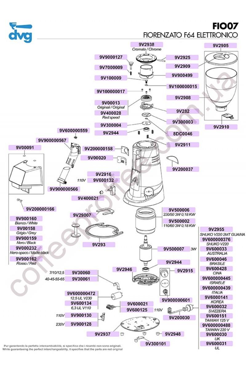 FIORENZATO - F64 ELECTRONIC COFFEE GRINDER